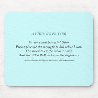The Viking's Prayer Mouse Pad