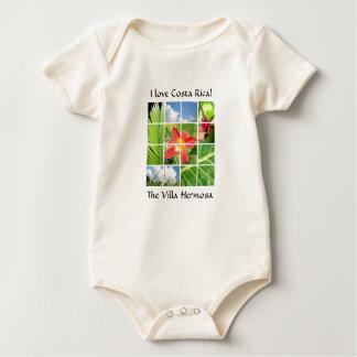 "The Villa Hermosa ""I love Costa Rica"" for baby Baby Bodysuit"