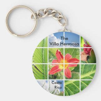 The Villa Hermosa Keychain