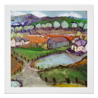 The Village - 20 x 20 glossy poster