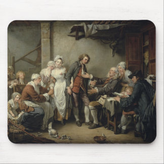 The Village Agreement, 1761 Mouse Pad