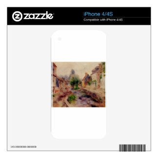 The Village by Pierre-Auguste Renoir Decal For iPhone 4
