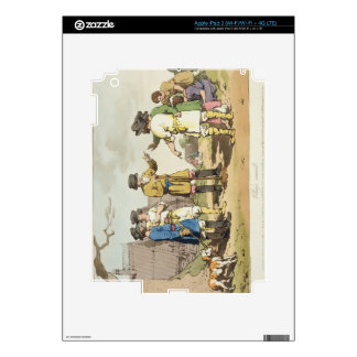 The Village Council, etched by the artist, publish iPad 3 Skins