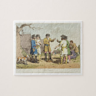 The Village Council, etched by the artist, publish Jigsaw Puzzle