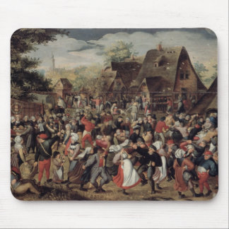 The Village Festival Mouse Pad