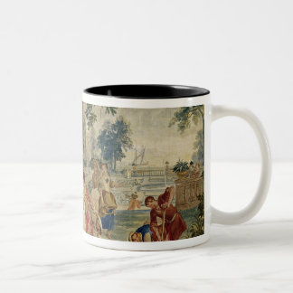 The village Fete after D.Teniers Two-Tone Coffee Mug