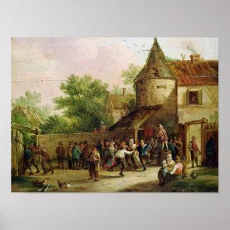 The Village Fete Poster
