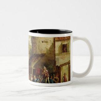 The Village Fete Two-Tone Coffee Mug