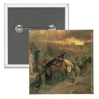 The Village Firemen, 1857 Pinback Button