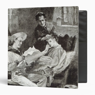 The Village Hero, from 'Leisure Hour', 1891 Binder