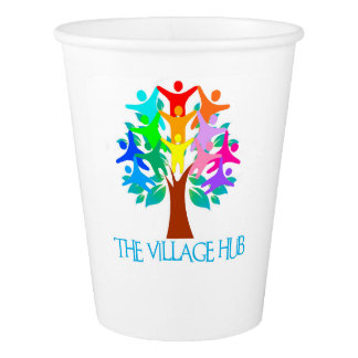 The Village Hub Paper Cups