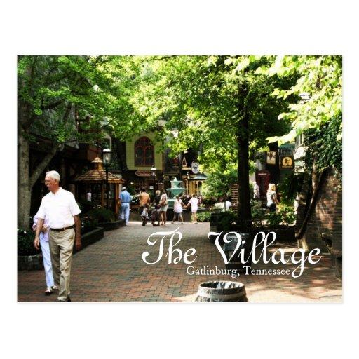 The Village in Gatlinburg, Tennessee postcard