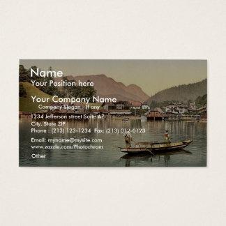 The village, Konigsee, Upper Bavaria, Germany clas Business Card