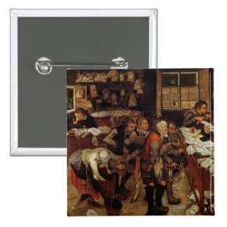 The Village Lawyer, 1621 2 Inch Square Button