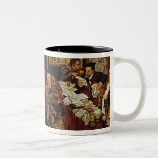 The Village Lawyer, 1621 Two-Tone Coffee Mug