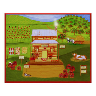 THE VILLAGE MARKET - Print + Other Items