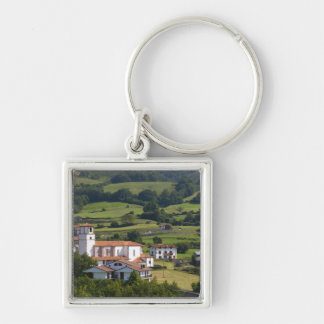 The village of Amaiur in the Baztan Valley of Keychain