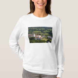 The village of Amaiur in the Baztan Valley of T-Shirt