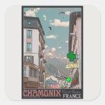 The Village of Chamonix - BonW Stickers