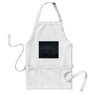 The Village Of Musicians Adult Apron