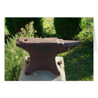 The Village of Pitchin, Iowa Anvil Used by Michael Card