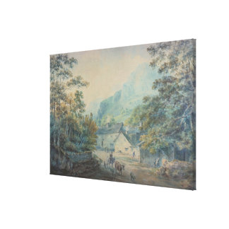 The Village of Rydal, Westmorland Canvas Prints