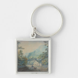 The Village of Rydal, Westmorland Keychain