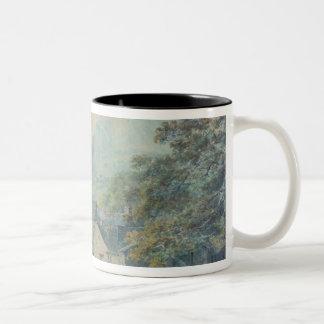 The Village of Rydal, Westmorland Two-Tone Coffee Mug