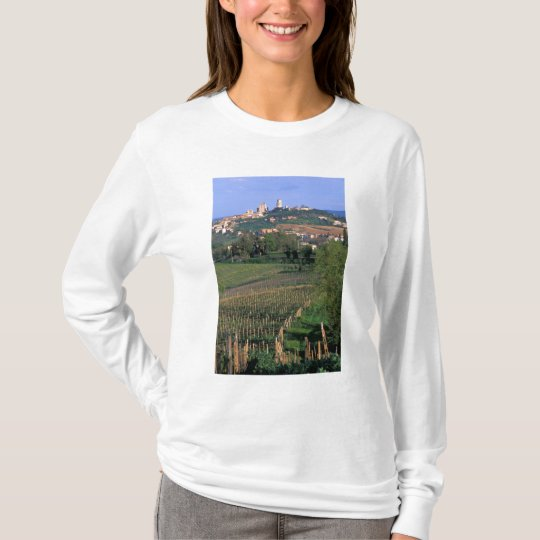The village of San Gimignano sits in the rolling T-Shirt