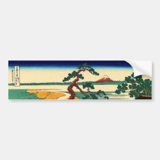 The village of Sekiya on the Sumida River Bumper Sticker