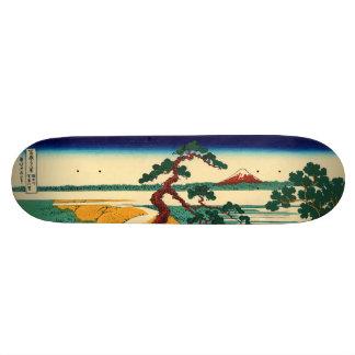 The village of Sekiya on the Sumida River Skateboard