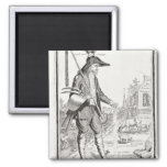 The Village Peasant, Born to Suffer, c.1780 Magnet