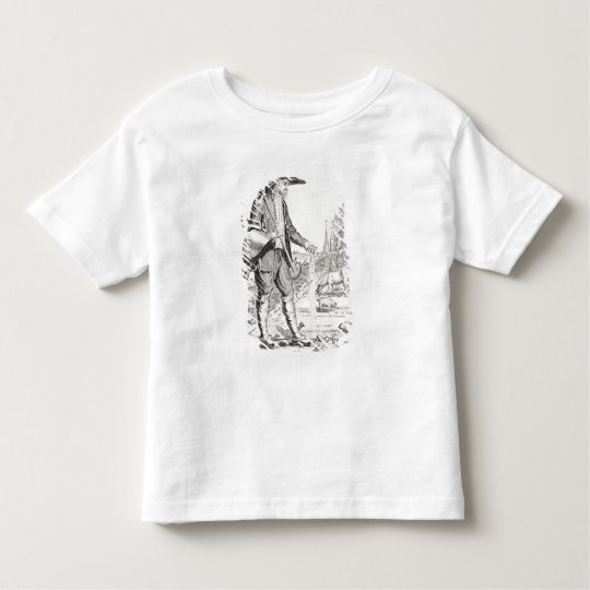The Village Peasant, Born to Suffer, c.1780 Toddler T-shirt