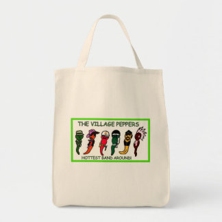 THE VILLAGE PEPPERS GROCERY BAG