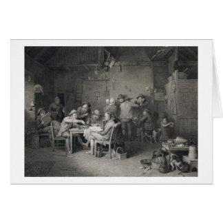 The Village Politicians, engraved by Abraham Raimb Card