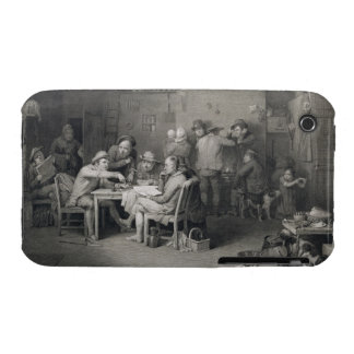 The Village Politicians, engraved by Abraham Raimb iPhone 3 Covers
