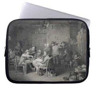 The Village Politicians, engraved by Abraham Raimb Computer Sleeve