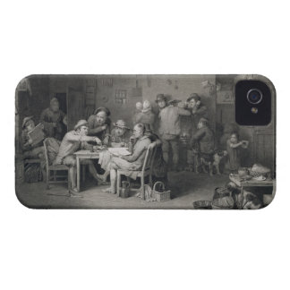 The Village Politicians, engraved by Abraham Raimb iPhone 4 Case