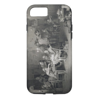 The Village Politicians, engraved by Abraham Raimb iPhone 8/7 Case