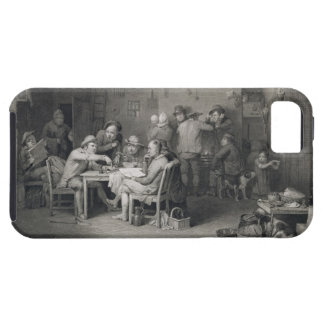 The Village Politicians, engraved by Abraham Raimb iPhone SE/5/5s Case