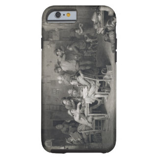 The Village Politicians, engraved by Abraham Raimb Tough iPhone 6 Case