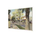 The Village Street, Palm Canyon Drive Canvas Print