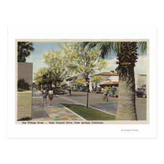 The Village Street, Palm Canyon Drive Post Card