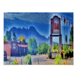 The Village, Tubac, Arizona Canvas Print
