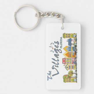 The villages florida community keychain