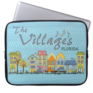 The villages florida community laptop sleeve