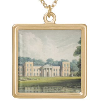 The Vine from the lake, from Ackermann's 'Reposito Gold Plated Necklace