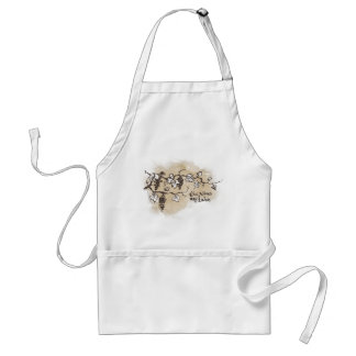 The Vines Are Laden Adult Apron