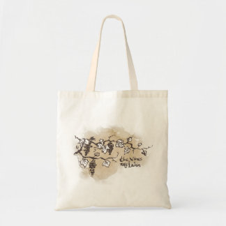 The Vines Are Laden Budget Tote Bag