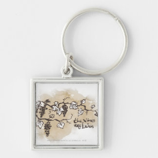 The Vines Are Laden Keychain